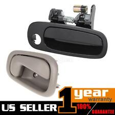 For 1998-2002 TOYOTA COROLLA Outer Inner Front Right Pass RH Side Door Handle 2