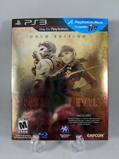 PS3 Resident Evil 5 Gold Edition Sony Playstation 3 NEW Sealed w/ Slip Cover