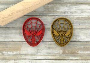 Spiderman formina biscotti cutter formine per biscotti cookie cutters tagliap...