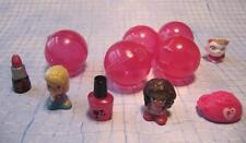 Lot Blip Toy Squinkies BARBIE DOLL NAIL POLISH PRINCESS CAT & PINK CAPSULES NICE