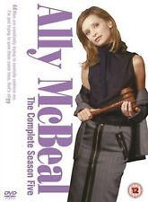 ALLY MCBEAL COMPLETE SERIES 5 DVD Fifth Season Calista Flockhart UK Rele New R2