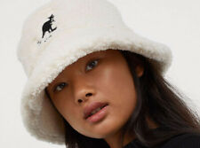 SUPER CUTE KANGOL X HM SHEARLING BUCKET HAT SIZE XS/S