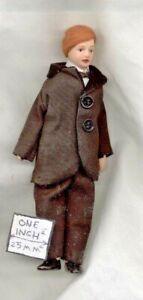 Porcelain Doll Victorian Man Father dollhouse miniature 1/12 scale  G7652