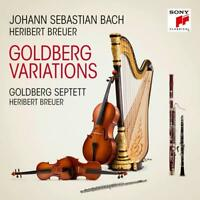 HERIBERT BREUER/GOLDBERG SEPTETT/BACH - GOLDBERG VARIATIONEN   CD NEUF