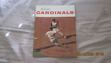 1964 ST LOUIS CARDINALS YEARBOOK