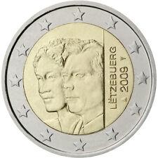LUSSEMBURGO: 2 EURO PRINCIPI HENRI E CHARLOTTE 2009