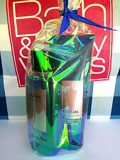BATH AND BODY WORKS OCEAN FOR MEN BODY WASH + BODY CREAM FULL SIZE GIFT SET