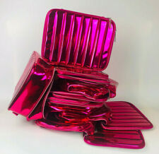NEW! 30 x Lancome Hot Pink Big Cosmetic Makeup Bags