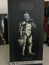 """Sideshow Star Wars Cad Bane Denal Disguise 12"""" 1/6 Scale Clone Trooper"""