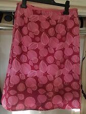 White Stuff pink skirt size 8