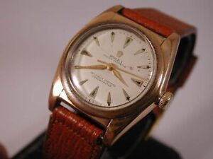 Gold Filled Rolex Oyster Perpetual Bubbleback. Chronometer. Ref: 2940.