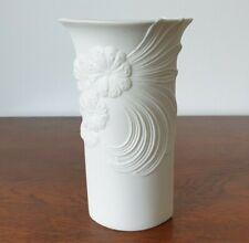 More details for vintage kaiser bisque porcelain floral vase 6