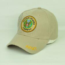 Stati Uniti Militare Corps USA Militare Regolabile Curvo a Becco Cappello Beige