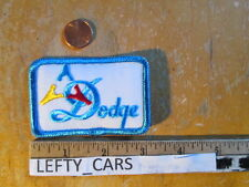 DODGE EMBROIDERED VINTAGE PATCH (STOCK#1) - SEW ON TYPE
