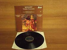 Mozart : Violin Concerto Nos. 4 & 5 : Gyorgy Pauk : Jorg Faerber : Stereo : NM
