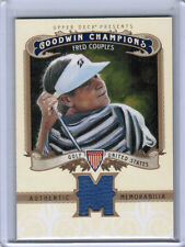 2012 UD GOODWIN CHAMPIONS FRED COUPLES AUTHENTIC MEMORABILIA GOLF SHIRT