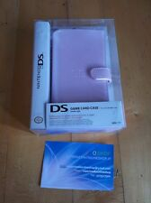 Custodia rosa HORI game card case NINTENDO DS- astuccio -no PSP 3DS- UFFICIALE!!