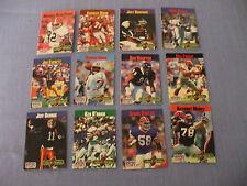 1990  NFL PRO SET  COLLECT A BOOKS  12 BOOKS  WARREN MOON,  DAN HAMPTON
