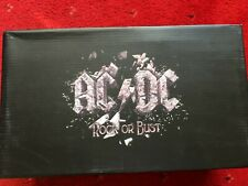 ACDC ROCK OR BUST OFFICIAL BOOTS/TRAINERS/SNEAKERS ANGUS YOUNG BRIAN JOHNSON
