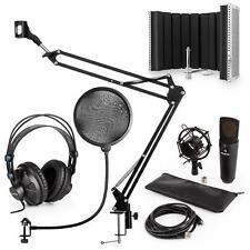 Auna CM003 de Condensador Pantalla Antipop Negro Accesorios Estudio Grabación