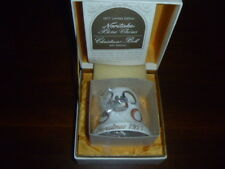 Noritake Christmas Bell Ornament Bone China NIB Five Golden Rings 1977 Japan