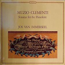 MUZIO CLEMENTI: Sonatas for Pianoforte-M1979LP Jos van Immerseel BELGIAN IMPORT