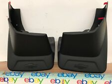 07-14 AVALANCHE Mud Flap Splash Guards Molded Rear GM OEM 19154416 NEW