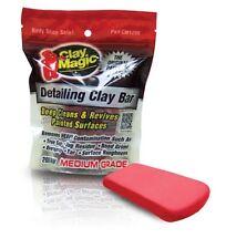 RED CLAY MAGIC® BY AUTO MAGIC MEDIUM GRADE DETAILING CLAY BAR 200 GRAM *SEALED*