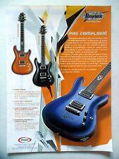 PUBLICITE-ADVERTISING :  Guitares IBANEZ SZ  06/2003