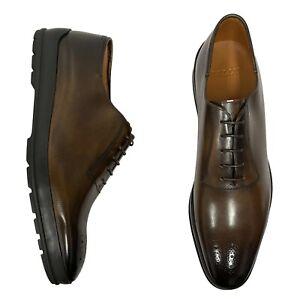 Bally Men's Shoes Size 13 EEE 12/UK Brown Brogue Pattern - Redison