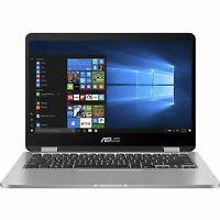 "ASUS VivoBook Flip 2IN1 14"" HD Touch N4020 4 64GB SSD Grey J401MA-DB02 W10"