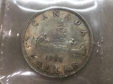 1936 Canada Silver Dollar ICCS MS 64