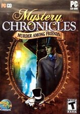 Mystery Chronicles Murder Among Friends PC Games Windows 10 8 7 XP Computer game