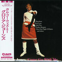 GLORIA JONES-COME GO WITH ME-JAPAN MINI LP CD BONUS TRACK C94