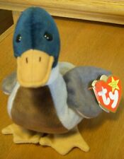 Jake the Duck Ty Beanie Baby 1997 Swing 1998 tush Red Stamp in Tush Tag