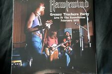 "Hawkwind Greasy Truckers Party Live Roundhouse 1972 Ltd 500 12"" vinyl LP New"