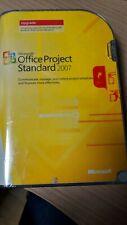 NEUF Microsoft Office Project Standard 2007 DVD English Upgrade