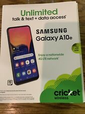 SAMSUNG GALAXY A10 32GB - Black - Cricket Wireless, NEW IN BOX