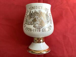 Prinknash Pottery Benedictines Golden Jubilee 1928-1978 Goblet Collectible
