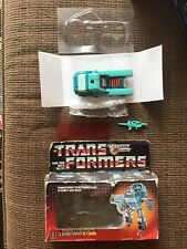 Vintage G1 Kup Complete W Box And Repro Insert