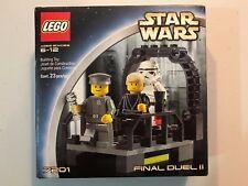 LEGO 7201 Star Wars Final Duel II Set 23 pcs New Sealed 2002