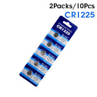 3V LM1225 BR1225 ECR1225 CR1225 KCR1225 Watch Button Coin Cell Battery 10Pcs 5F