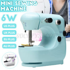 Portable Mini Sewing Machine Electric Desktop Handheld For Stitch Clothes DIY