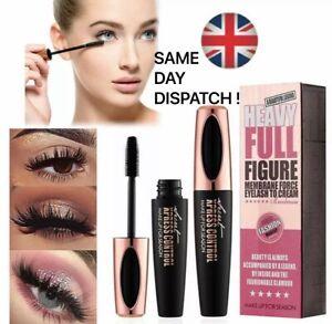 4D Silk Fibre Mascara Eyelash Waterproof Extention Volume Make Up Long Lasting❤️