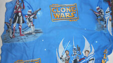 Star Wars Sheet Blue Fitted  Clone Storm Troopers Twin Bed Fabric