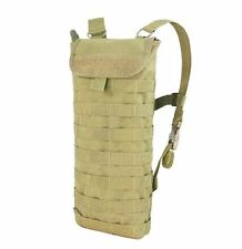 CONDOR MOLLE Modular 2.5L Water Hydration Carrier + Bladder HCB-003 TAN