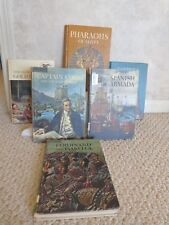 History Books: Captain Cook, Spanish Armada, etc. Vintage Library (#2994)