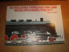Lima catalogue 1978-79   Language: dutch   Katalog 1978-79