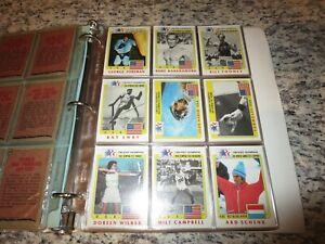 1983 History's Greatest Olympians Oympics Los Angeles 99 Card Set NEW
