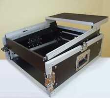TEGO PRO 4/10 HE Winkelrack mit Laptop Notebook Ablage L-Rack Kombicase DJ Rack